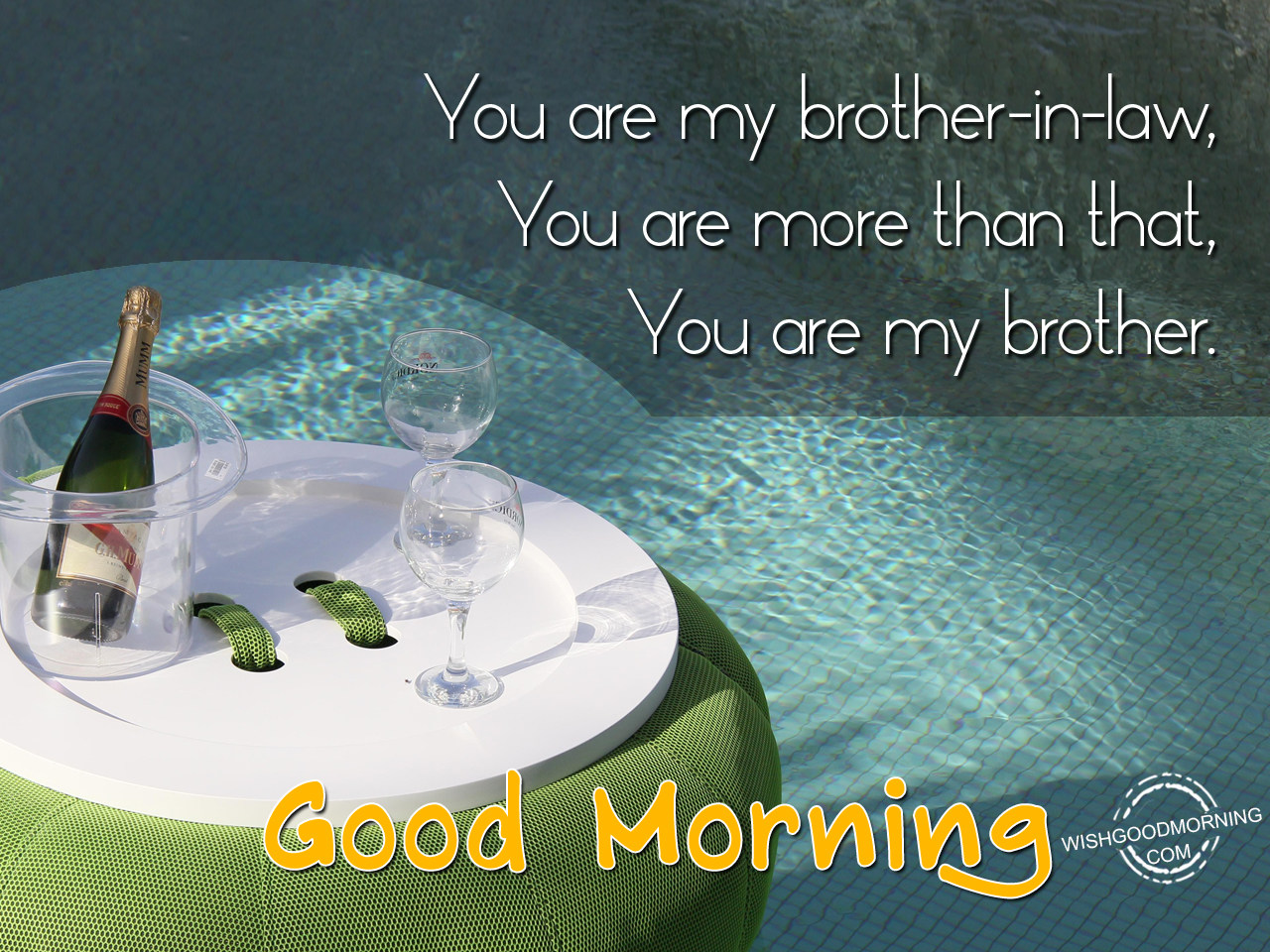 Good Morning Brother : Good morning wishes for brother in law