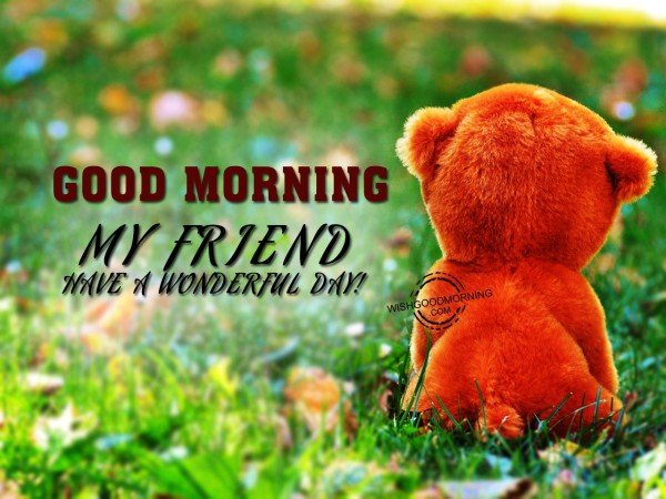 Good Morning My Friend