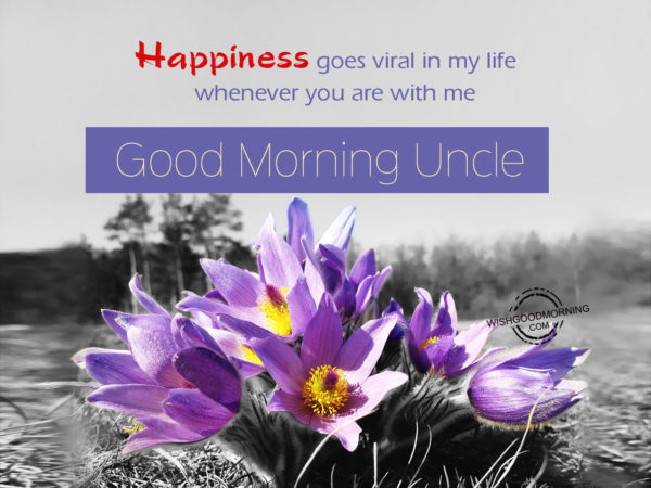 Happiness goes viral in my life,Good Morning