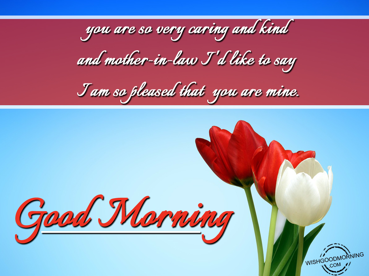 Good morning wishes for mother in law good morning pictures you are so very caring m4hsunfo