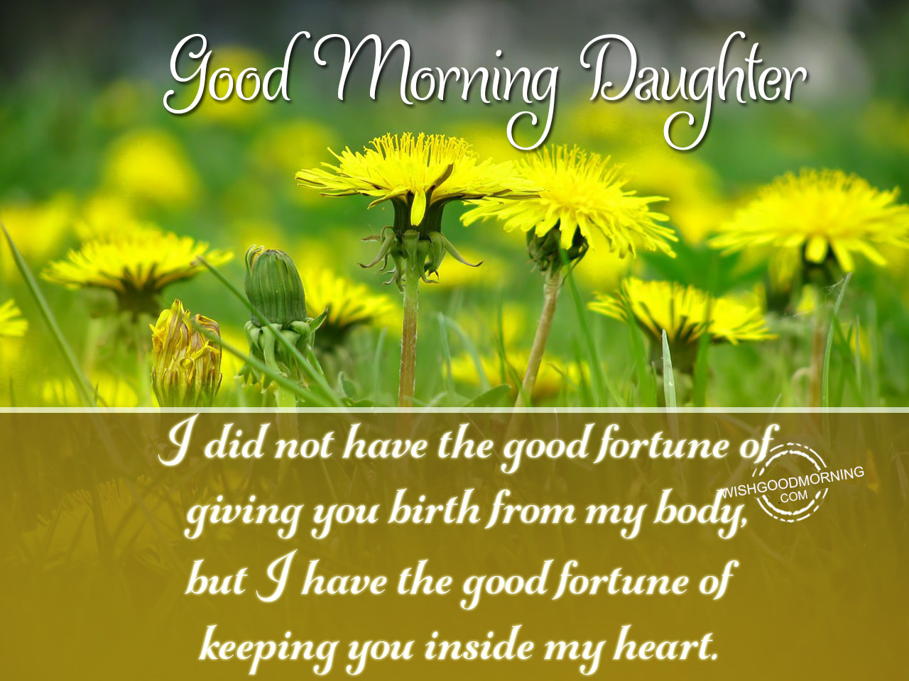 Good Morning Wishes For Stepdaughter Good Morning Pictures